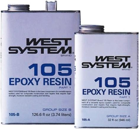 West System Epoxy 206A  1200gr
