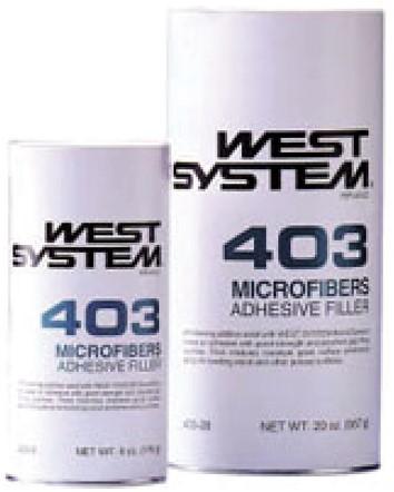 West System 403 Microfibers  750gr