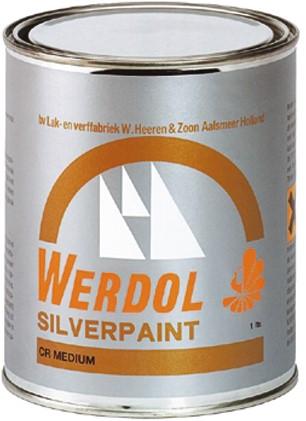 Epifanes Werdol Silverpaint Medium Onderwaterverf 1Liter