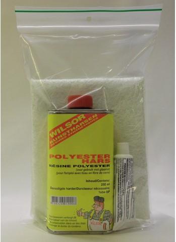 Polyester reparatieset 300 gr
