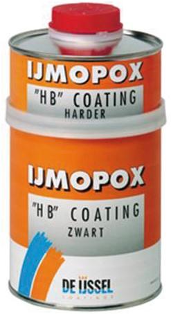 De IJssel IJmopox HB coating zwart