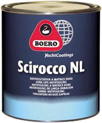 Boero Scirocco NL Antifouling Rood - 5 Liter