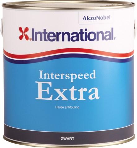 International Interspeed  Extra Antifouling Zwart - 2,5 Liter