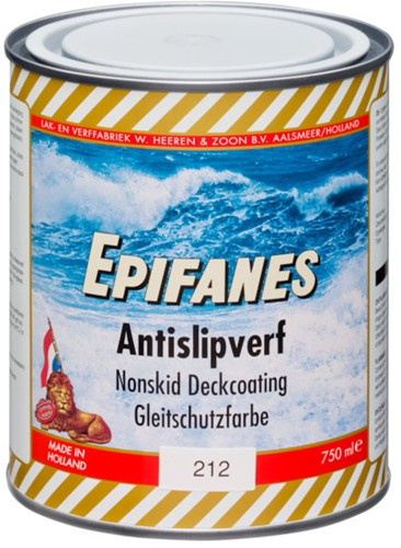 Epifanes Antislip verf grijs 213  0.75L