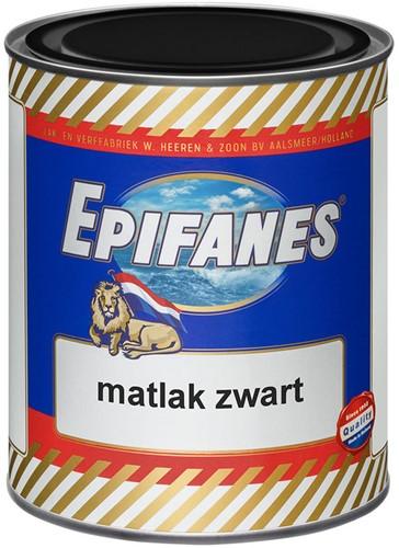 Epifanes Matlak zwart 0.75L