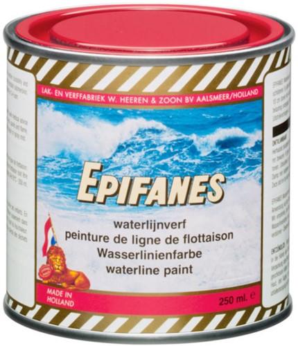 Epifanes waterlijnverf rood 250ml
