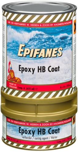 Epifanes Epoxy HB Coat 0.75 liter zwart