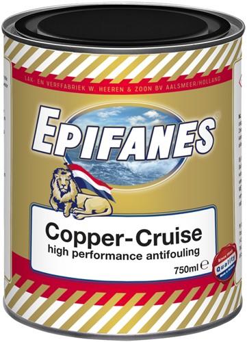 Epifanes Copper-Cruise Antifouling Zwart - 0.75 Liter