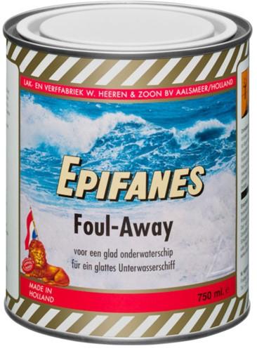 Epifanes Foul-Away Antifouling Zwart - 0,75 Liter