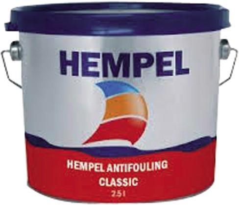 Hempel Classic Antifouling Zwart - 2.5 Liter