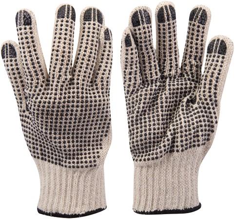 Dubbelzijdig gestipte handschoenen