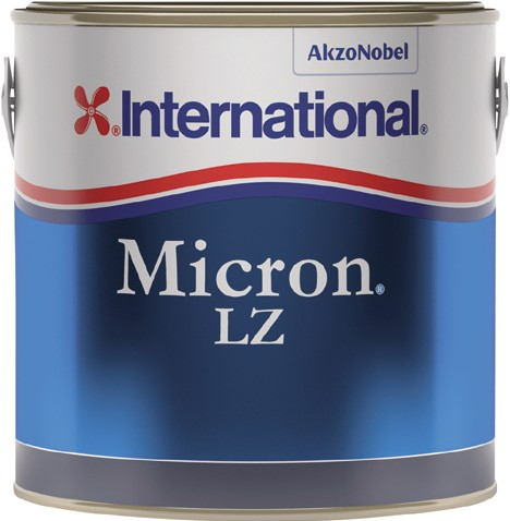 International Micron LZ Antifouling Rood - 0.75 Liter