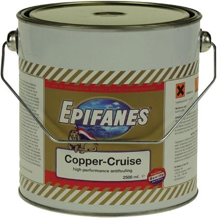 Epifanes Copper-Cruise Antifouling Zwart - 2.5 Liter