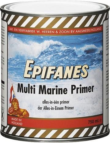 Epifanes multi primer - wit/grijs/zwart - 0.75/2.00 liter