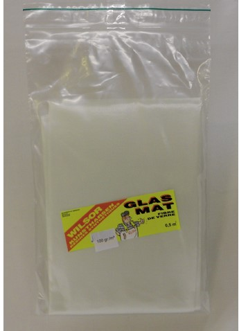 Wilsor Glasmat 1m 200gr