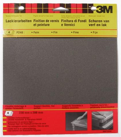 Schuurpapier 3M Waterproof